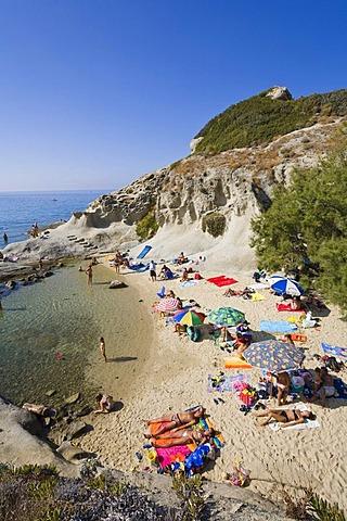 Beach near Sant'Andrea, Elba, Tuscany, Italy, Mediterranean, Europe