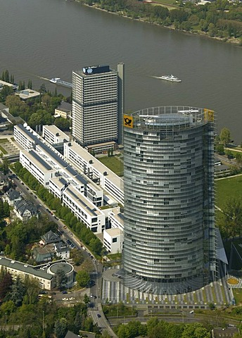 Government quarter, Langer Eugen Building, T-Com headquarters, Bonn, North Rhine-Westphalia, Germany, Europe