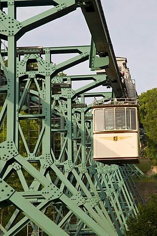 Loschwitz Bergschwebebahn aerial tramway, Dresden, Saxony, Germany