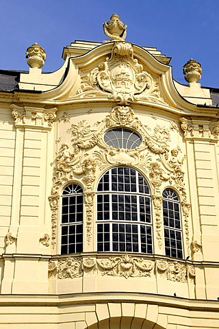 Facade of the Reduta Casino, Bratislava, formerly known as Pressburg, Slovakia, Europe