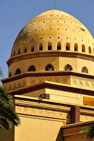 Dome of the Theatre Royale, Royal Theatre, Marrakesh, Morocco, Africa
