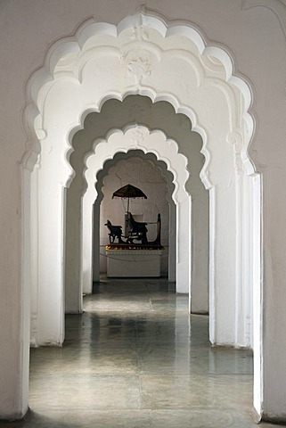 Corridor, Mehrangarh Fort, Jodhpur, Rajasthan, India, South Asia