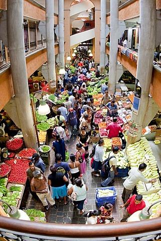 Market hall, Port Louis, Mauritius
