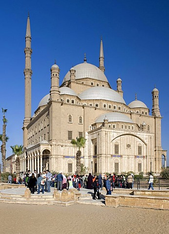 The Mosque of Muhammad Ali Pasha, Alabaster Mosque, Cairo, Egypt, Africa