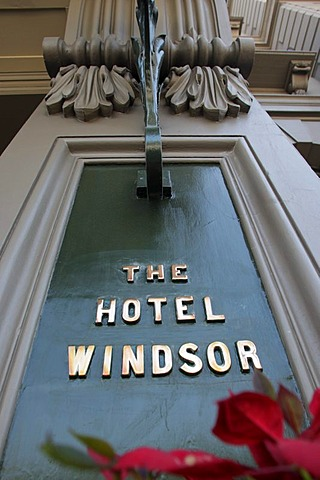 Deluxe hotel Windsor, grand hotel, protected building, Melbourne, Victoria, Australia