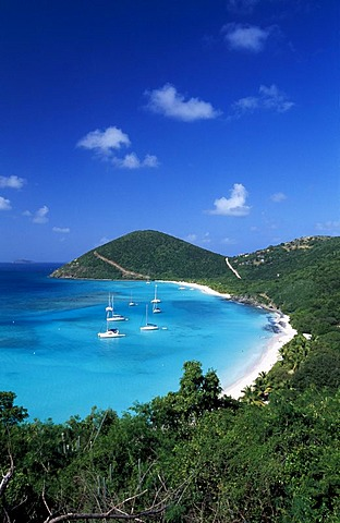 White Bay, Jost Van Dyke Island, British Virgin Islands, Caribbean
