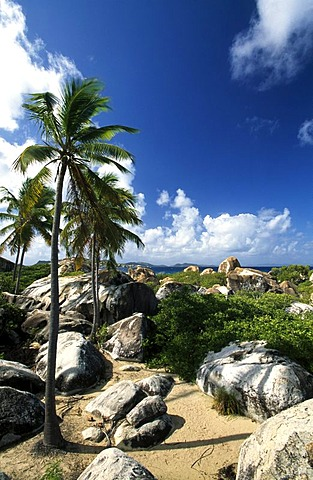 The Baths, a rock formation on Virgin Gorda Island, British Virgin Islands, Caribbean
