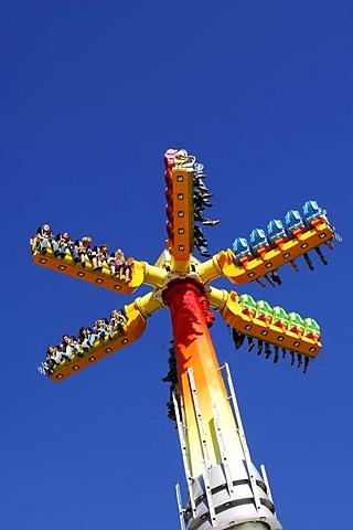 High Energy, carrousel, Wies'n, October fest, Munich, Bavaria, Germany, Europe