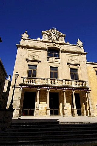 Theatre in Tarascon, Provence, France, Europe