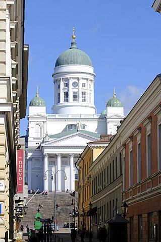 Tuomiokirkko, Helsinki Cathedral, Helsinki, Finland, Europe