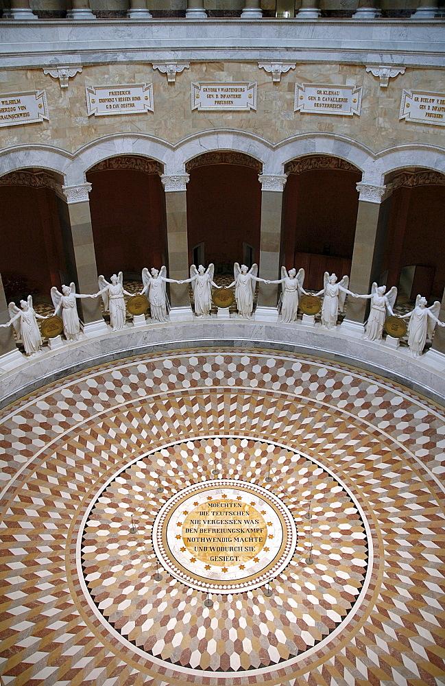 Hall of Liberation, Kelheim, Lower Bavaria, Bavaria, Germany