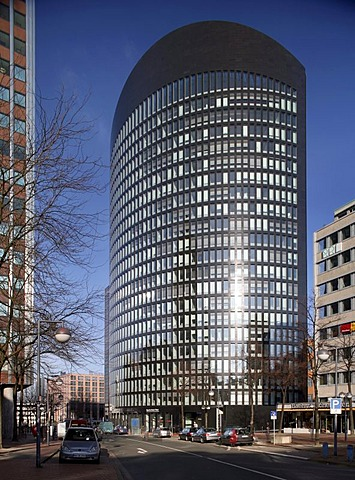 RWE-Tower, Dortmund, Ruhr Area, North Rhine-Westphalia, Germany, Europe