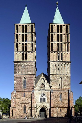 St. Martin Church, Kassel, Hesse, Germany, Europe