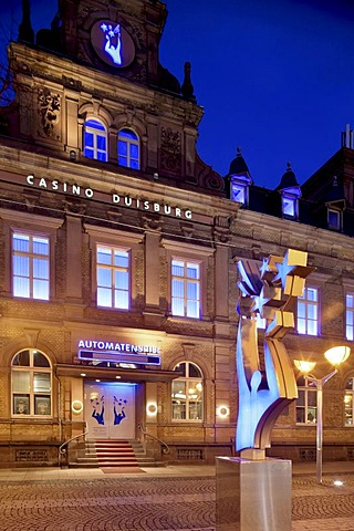 Casino Duisburg, Ruhr district, North Rhine-Westphalia, Germany, Europe