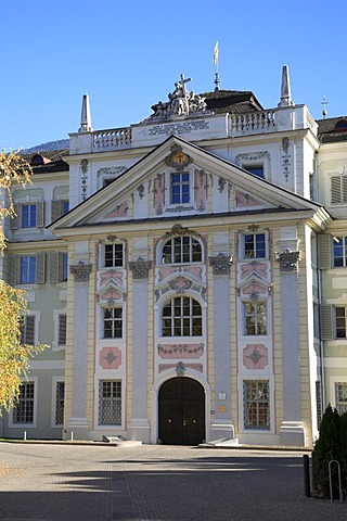 Historic priest seminary in Brixen, South Tyrol, Italy, Europe