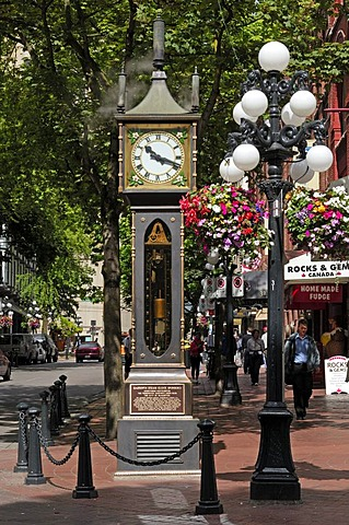 Vancouver Steam Clock in Gastown, Vancouver, Canada
