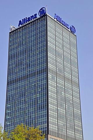 Allianz Tower, Treptow district, Berlin, Germany, Europe