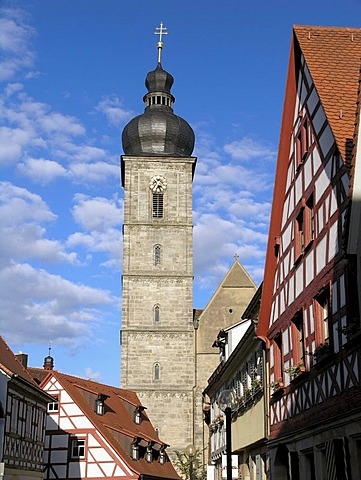 St. Martin's Church, Forchheim, Upper Franconia, Bavaria, Germany, Europe