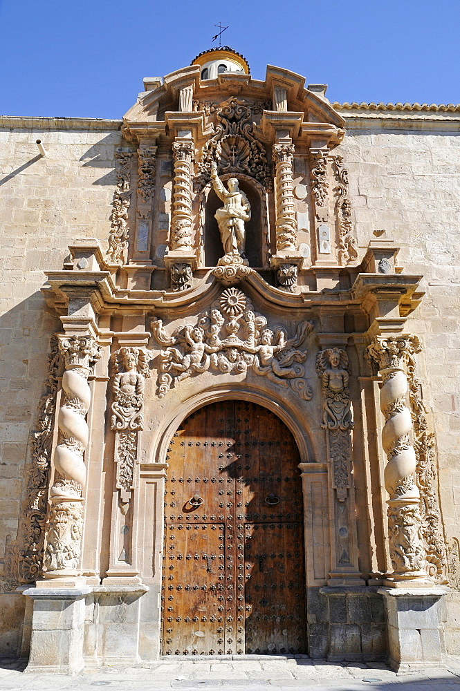 Santiago Apostol Church, Orihuela, Alicante, Spain