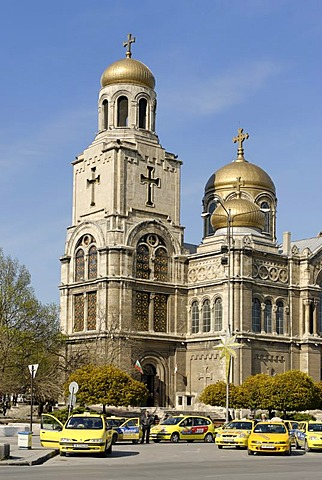 Varna Bulgaria at the Black sea the dormition of the Theotokos Cathedrale of Assumption St. Kiril and Methody