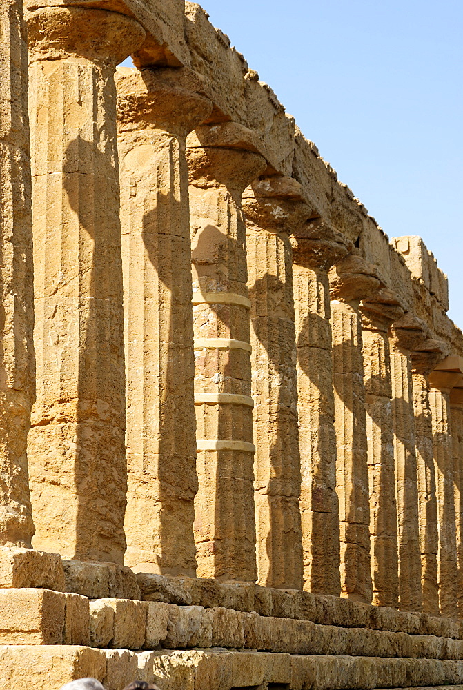 Temple of Juno Lacinia Agrigento Sicily Italy