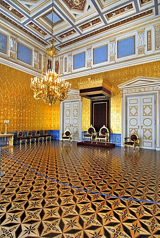 Throne room of the Queen, Residenz, Munich, Bavaria, Germany