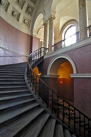 Queen Mother Stairs, Residenz, Munich, Bavaria, Germany