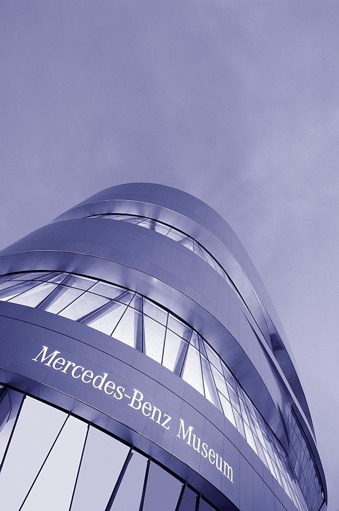 Mercedes Benz Museum, Stuttgart, Baden Wuerttemberg, Germany, Europe