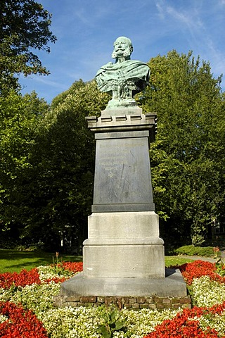 Emperor Wilhelm Memorial, Rellinghausen, Essen, Ruhrgebiet, North Rhine-Westphalia, Germany