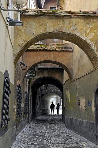 Old lanes of Ljubljana, Slowenien