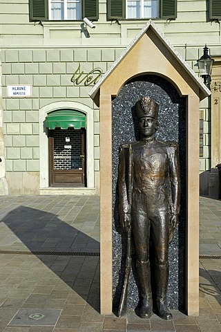 Main Square, Hlavne namestie, sculpture, Bratislava, Slovakia