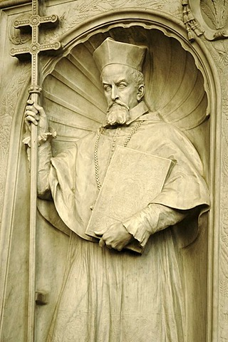 Relief, St. Martin's Cathedral, Bratislava, Slovakia