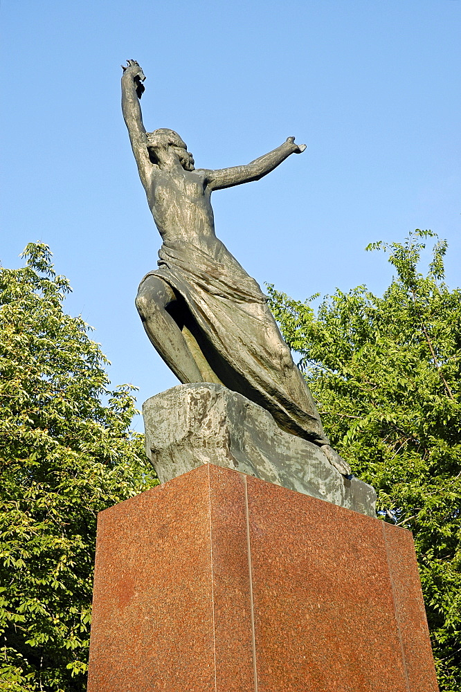 Memorial for the liberators of the city, Bratislava, Slovakia