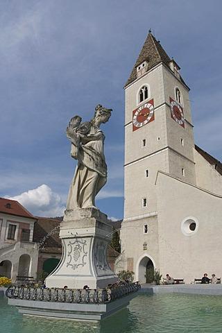 Church of Spitz on the Danube Wachau Lower Austria