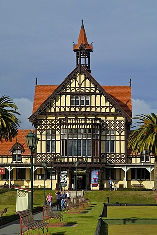 Museum of Art and History in Rotorua New Zealand