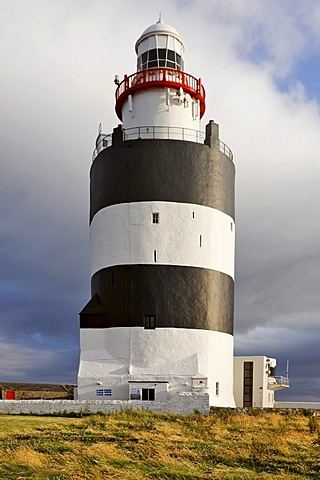 Lighthouse of Hook¥s Head which is dating back to the 13.th century, County Wexford, Ireland - 832-284395