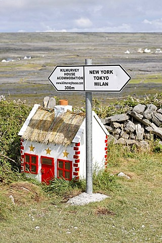 Funny signs, Inis Mor, Aran Islands, Ireland