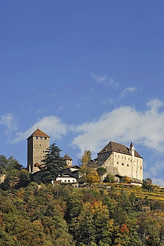 Castle Tirol, near Meran, South Tyrol, Italy