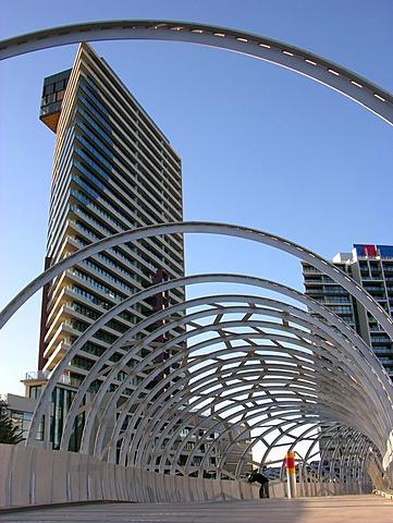 The Webb Bridge, Melbourne, Vicotora, Australia