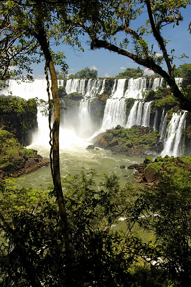 Waterfalls, Iguacu, Argentina, South America