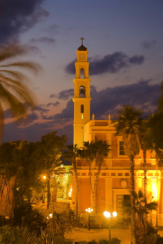 St Peter's Church, Jaffa, Tel Aviv, Israel, Middle East