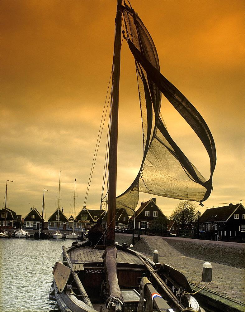 Marken, IJsselmeer, Holland, Netherlands, Europe