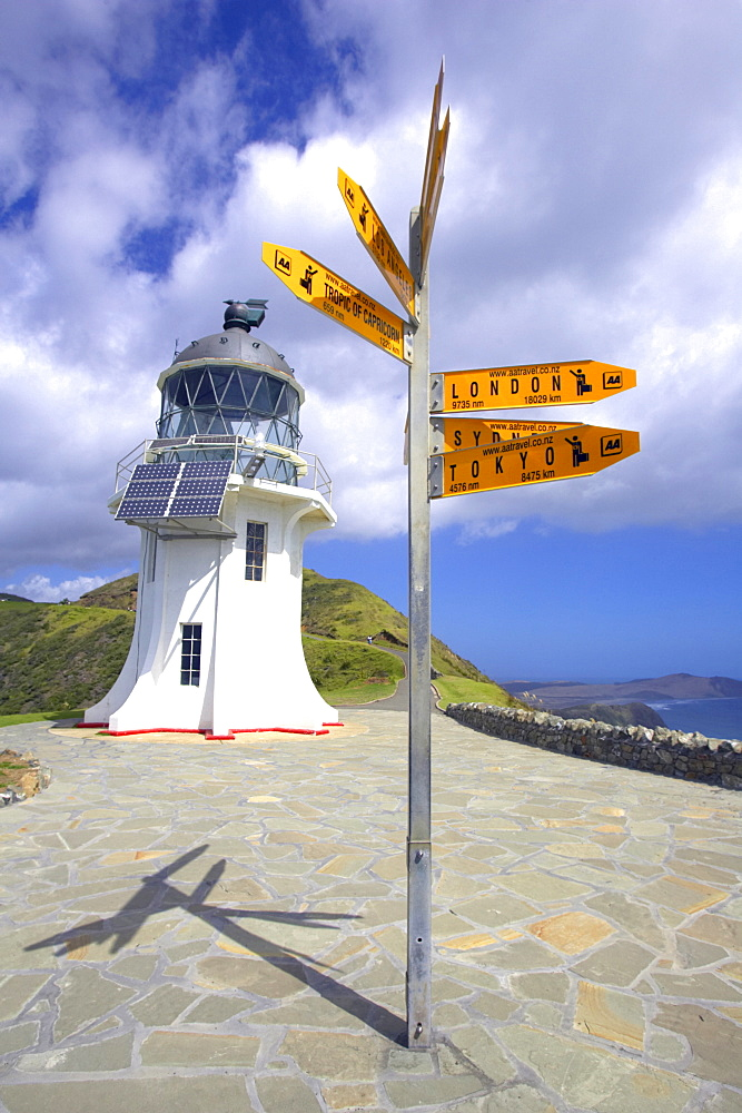 Cape Reinga Lighthouse, North Island, New Zealand