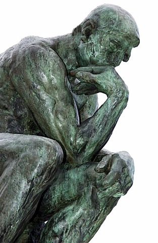 The Thinker (Le Penseur) statue of Auguste Rodin