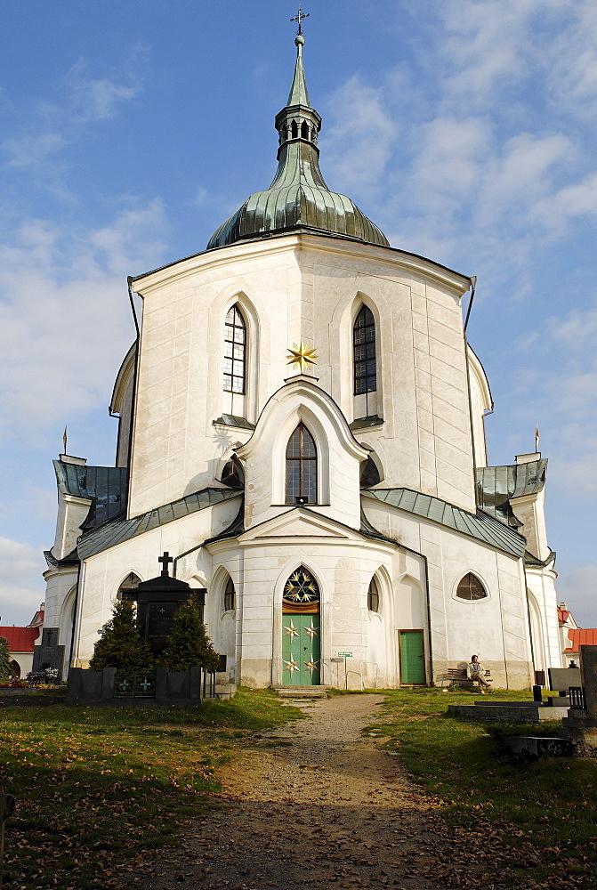 Church of Saint John of Nepomuk, Zdar nad Sazavou, UNESCO World Heritage Site, Bohemia, Czech Republic, Czechia