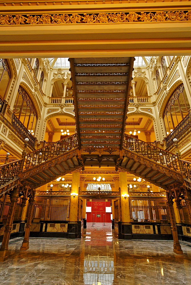 Historic main post office of Mexico City, Mexico, Central America
