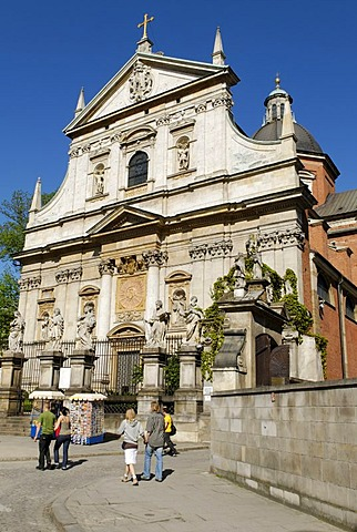 Church of St. Peter und Paul, UNESCO World Heritage Site, Krakow, Poland, Europe