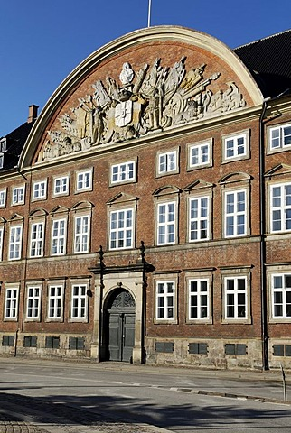 Historic building of the Department of Finance, Copenhagen, Denmark, Scandinavia, Europe