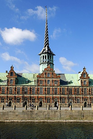 Historic bourse, Copenhagen, Denmark, Scandinavia, Europe