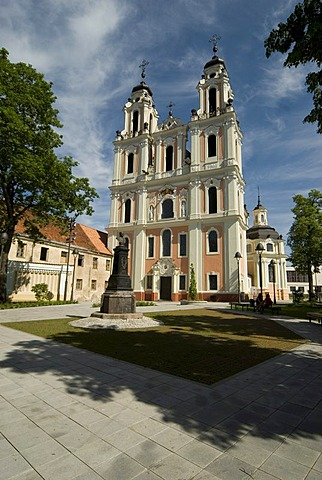 St. Cathrine¥s church, Wilna, Vilnius, Lithuania